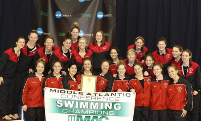 Albright Sweeps Middle Atlantic
